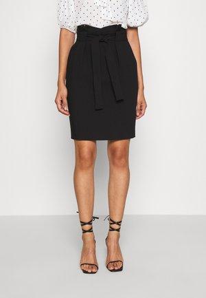 IHUDELE - Pencil skirt - black