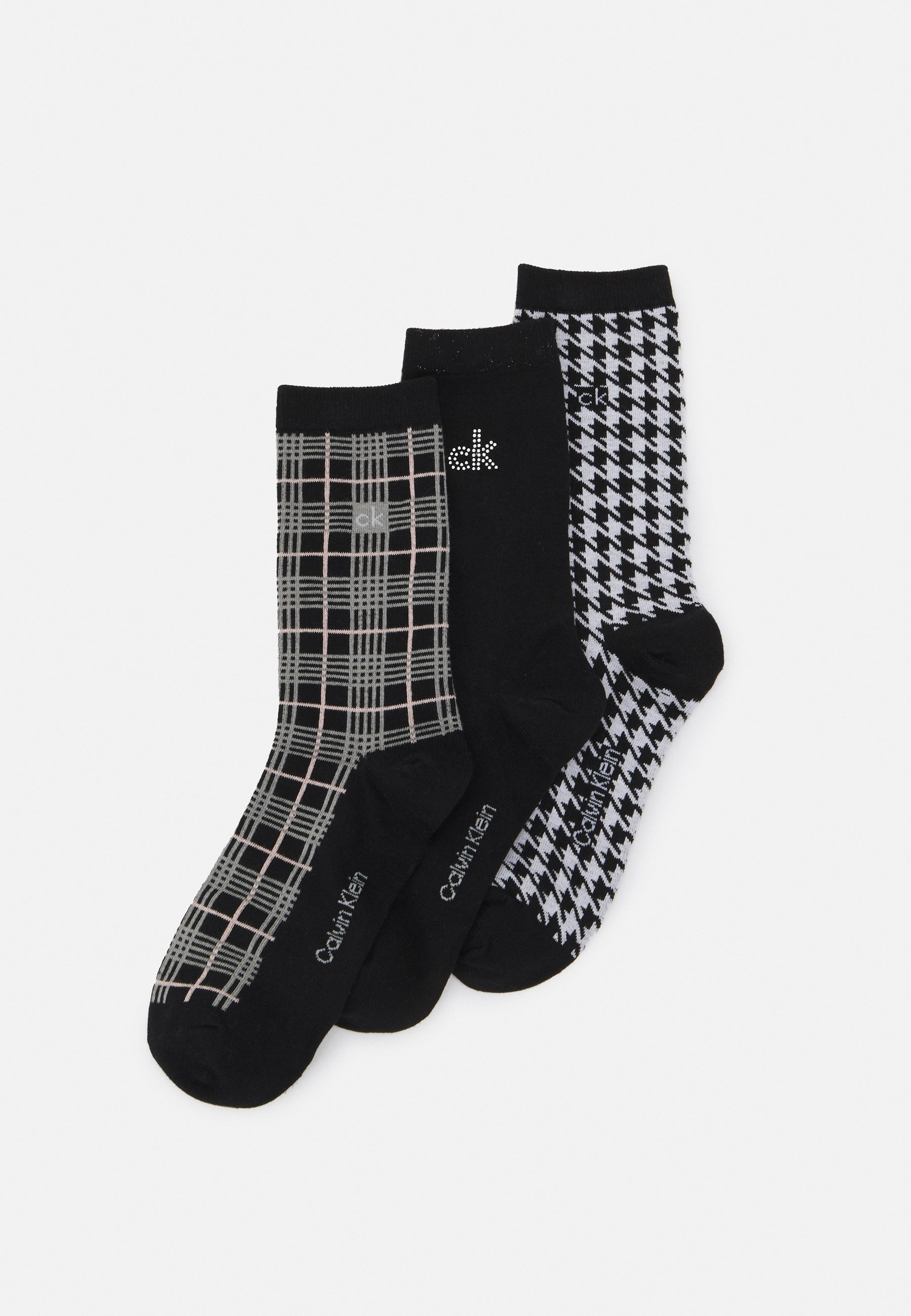 Femme WOMENS CRYSTAL DRESS CREW GIFTBOX 3 PACK - Chaussettes