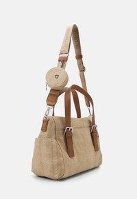 Desigual - BOLS SUMMER AQUILES LOVERTY - Handbag - beige - 1