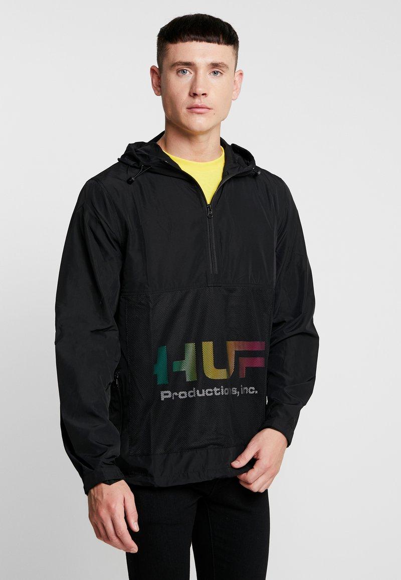 HUF - PRODUCTIONS INC - Windbreaker - black