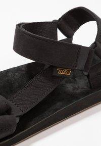 Teva - ORIGINAL UNIVERSAL - Chodecké sandály - black - 5
