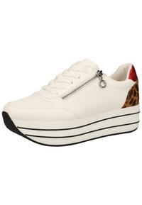 s.Oliver - S.OLIVER SNEAKER - Trainers - white punch 105 - 2