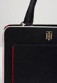 Tommy Hilfiger - CITY SATCHEL - Handbag - blue - 5