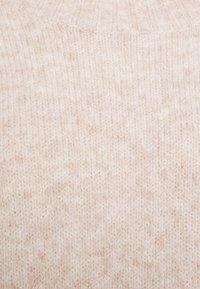 TOM TAILOR DENIM - MOCK NECK LONG - Jumper - cozy beige melange - 2