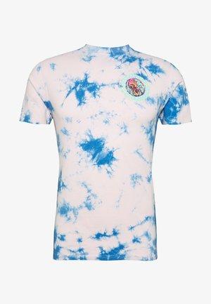 unisex Smoke signal - T-shirt con stampa - pink/blue