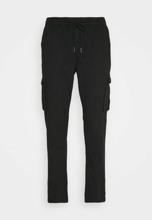 VERMONT - Cargo trousers - black