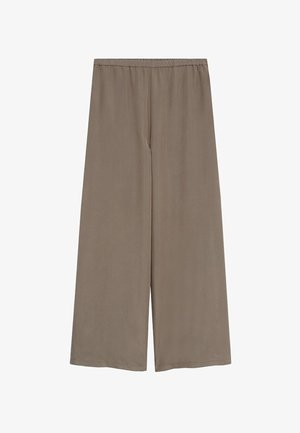TENCI-A - Trousers - marron moyen