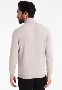 Benetton - BASIC ROLL NECK - Jumper - beige - 2