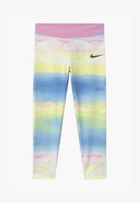 Nike Sportswear - GIRLS ICE LANDSCAPE - Leggings - Trousers - light pink/light blue/light yellow - 0