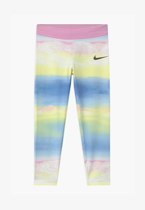 GIRLS ICE LANDSCAPE - Legíny - light pink/light blue/light yellow