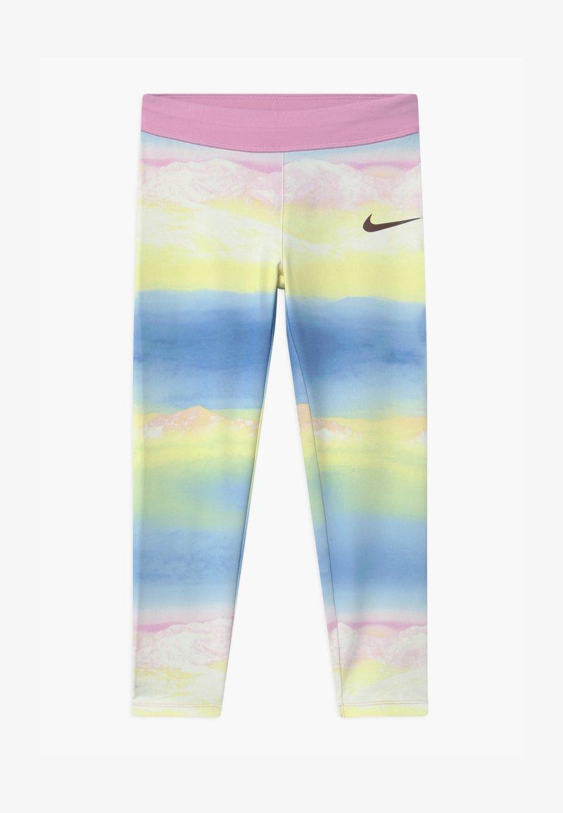 Nike Sportswear - GIRLS ICE LANDSCAPE - Leggings - Trousers - light pink/light blue/light yellow