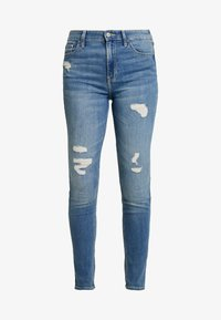Hollister Co. - Skinny džíny - medium destroy - 3
