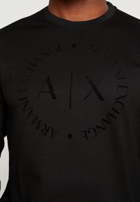 Armani Exchange - Sweatshirt - black - 5
