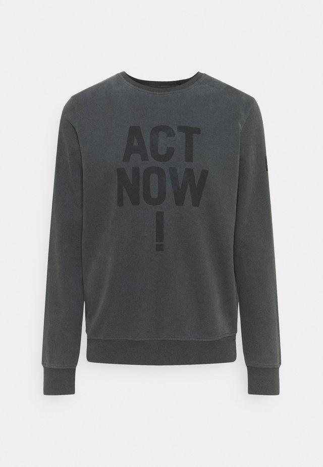 ALTAMIRA ACT NOW MAN - Sweatshirt - caviar