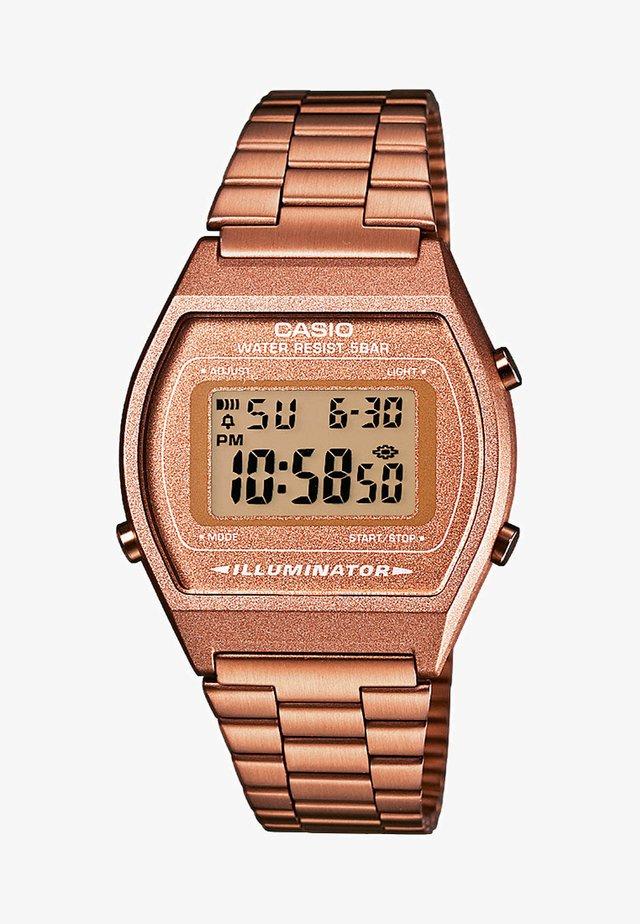 Digitální hodinky - roségold