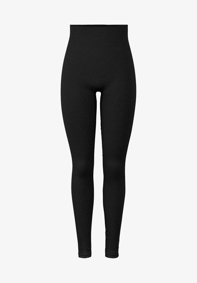 NAHTLOSE - Leggings - black