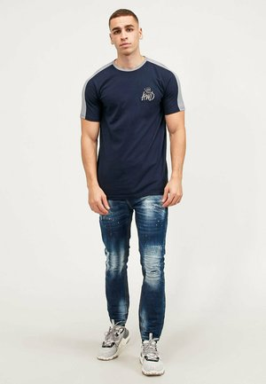 WEXFORD 2 PACK - T-shirt con stampa - black/navy