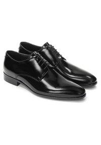 Kazar - APOLL - Šněrovací boty - Black - 1