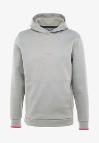 Under Armour - ATHLETE RECOVERY GRAPHIC HOODIE - Mikina s kapucí - gravity green/metallic silver - 3