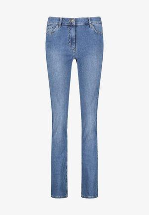 Slim fit jeans - blue denim mit use
