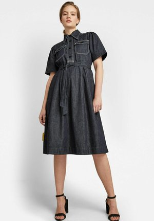 SCOUTING DRESS - Denim dress - blue denim