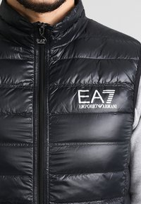 EA7 Emporio Armani - Waistcoat - black - 3