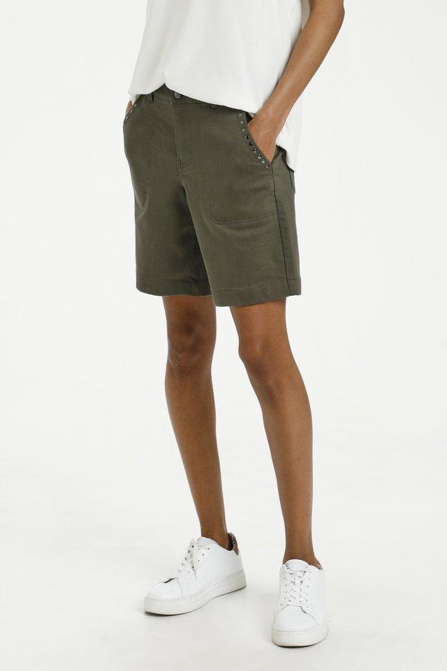 Shorts di jeans - grape leaf