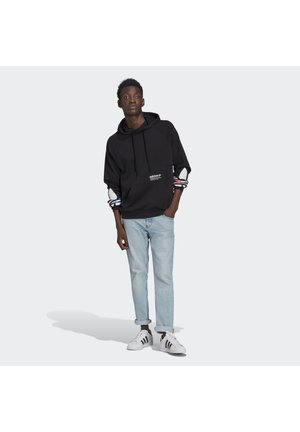 TRICOL HOODY UNISEX - Sweatshirts - black