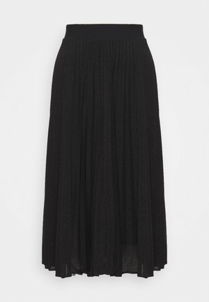 CLOSER - Jupe trapèze - black