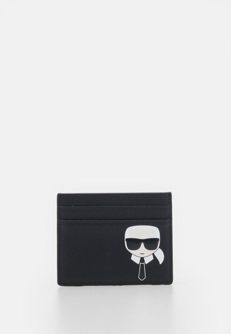 KARL LAGERFELD - IKONIK CLASSIC CARD HOLDER - Peněženka - black