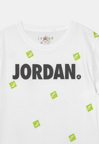 Jordan - POST IT UP UNISEX - Triko spotiskem - white - 2