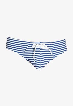 Swimming briefs - blau/weiss