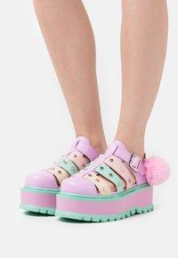 Koi Footwear - VEGAN NYOKA  - Platform sandals - rainbow - 0