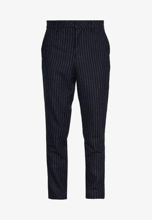 FIG TROUSER - Pantaloni - navy