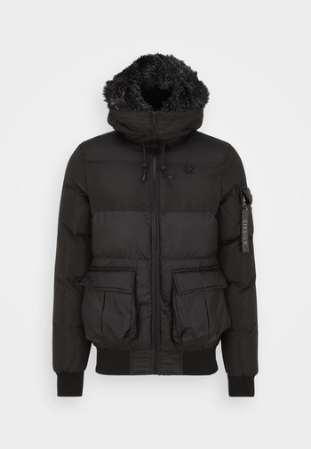 DISTANCE - Winter coat - black