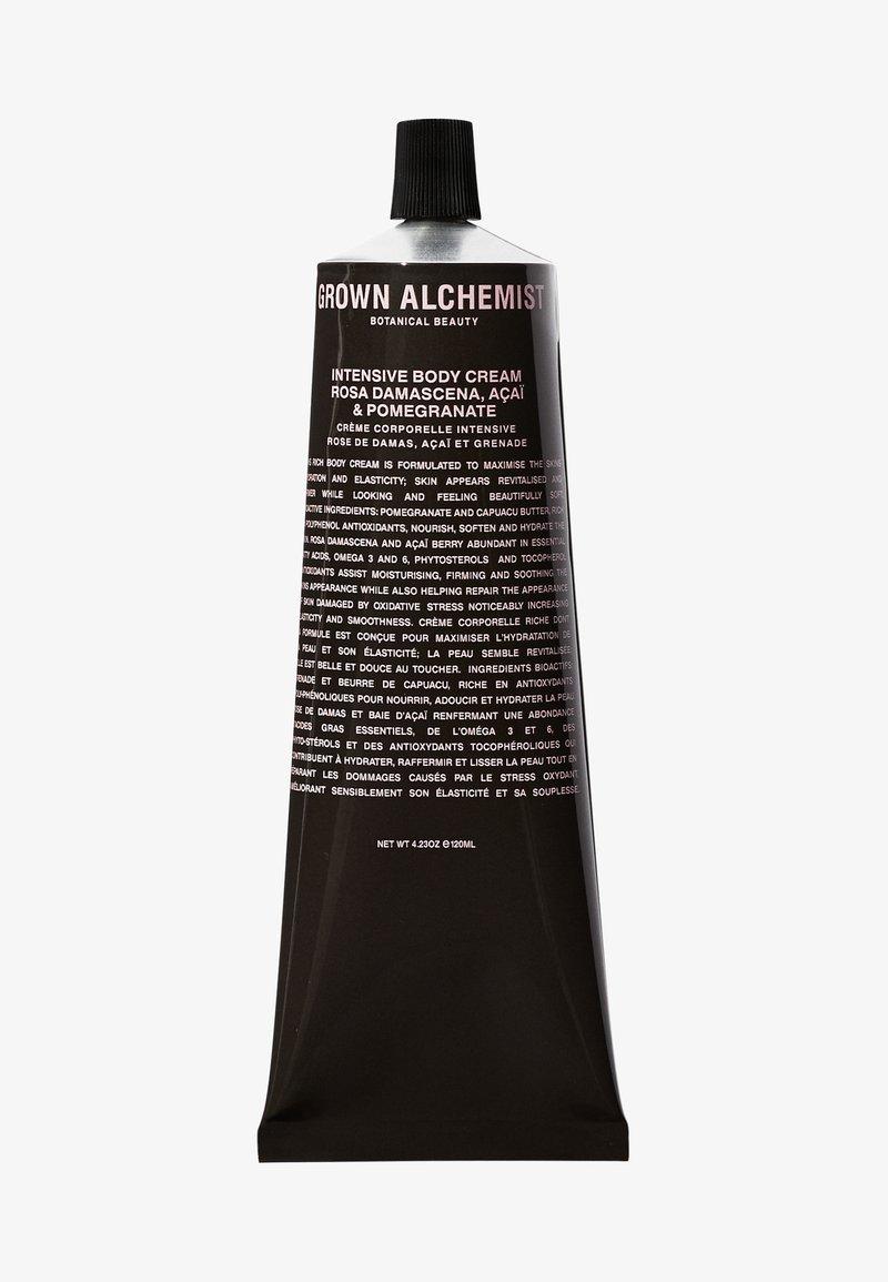 Grown Alchemist - INTENSIVE BODY CREAM ROSA DAMASCENA, ACAI & POMEGRANATE  - Moisturiser - -