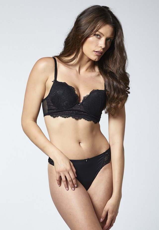 RICH LACE  - Reggiseno con ferretto - black