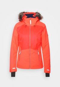 O'Neill - HALITE JACKET - Kurtka snowboardowa - fiery coral - 6