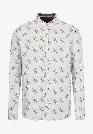 LANGARM - Camicia - weiß