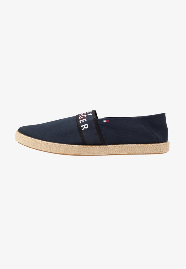 SUMMER SLIPON - Espadryle - blue