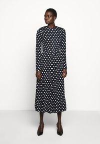 LK Bennett - MARIA - Jumper dress - midnight/ antique cream - 0
