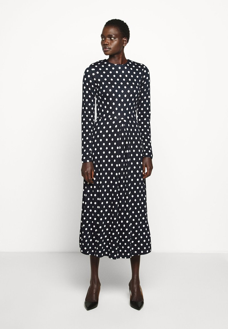 LK Bennett - MARIA - Jumper dress - midnight/ antique cream