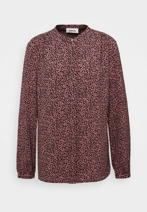 EMILY PRINT SHIRT - Button-down blouse - rose