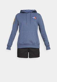 The North Face - NOVELTY PATCH HOODIE  - Sweatshirt - vintage indigo - 3