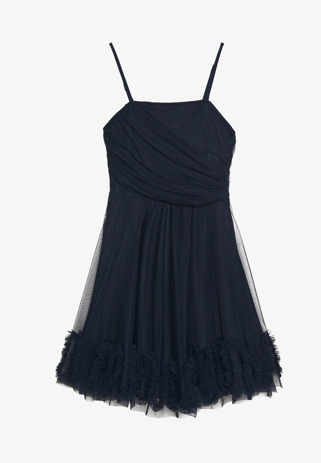 RANI DRESS PETITE - Cocktailklänning - navy