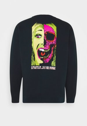 SCAROMATIC CREW - Sweatshirt - black