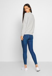 Lee - SCARLETT HIGH ZIP - Jeansy Skinny Fit - mid candy - 2