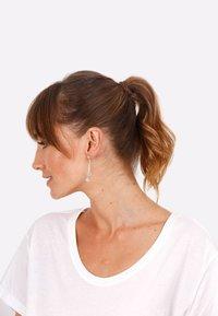 Elli - CIRCLE STICK BASIC - Earrings - silver - 1