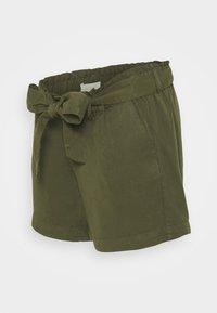MAMALICIOUS - MLELLENA WOVEN - Shorts - olivine - 0