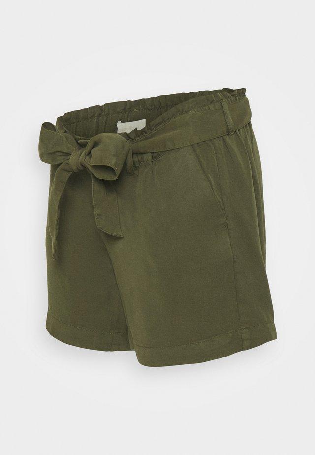 MLELLENA WOVEN - Shorts - olivine